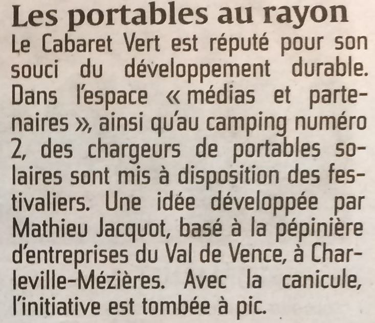 Article de ardennais