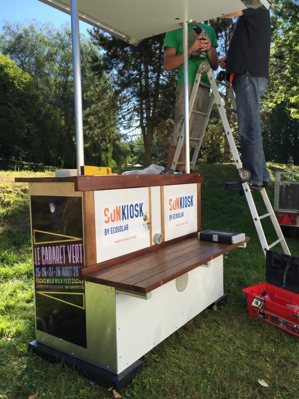 SUNKIOSK installation