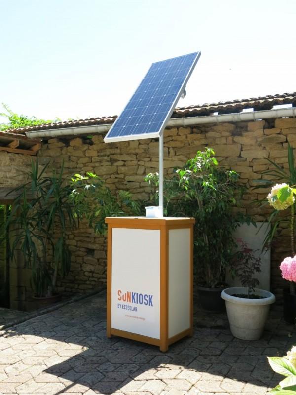 énergie solaire pour appareils nomades