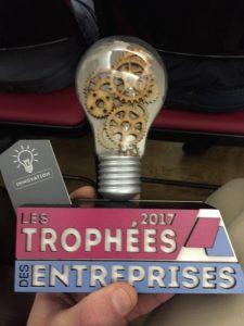 Trophées des entreprises 2017 catégorie innovation