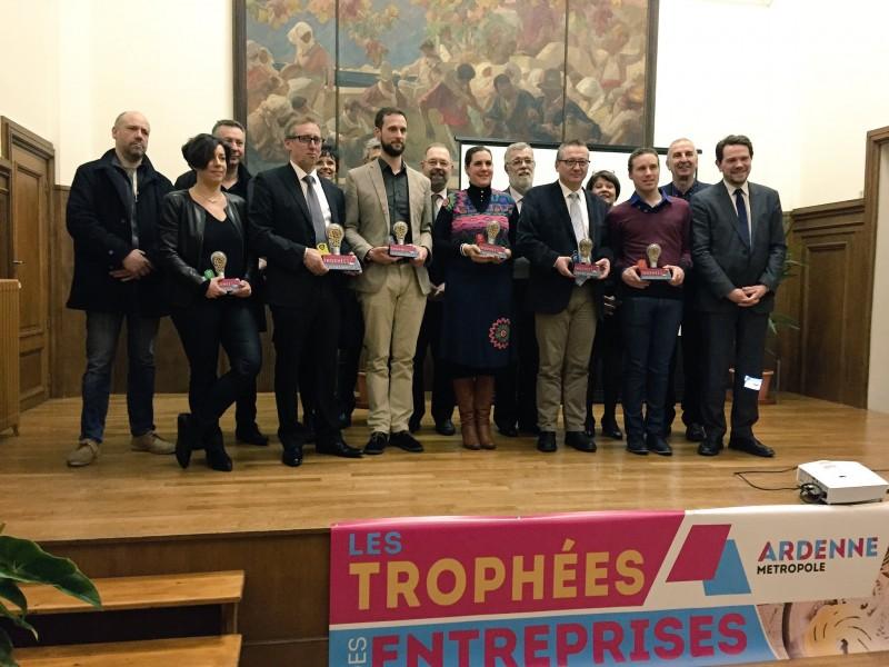 ECOSOLAR lauréat dans la catégorie innovation au concours Trophées des entreprises organisé par Ardenne Métropole