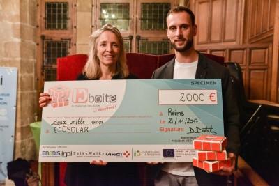 SUNKIOSK by ECOSOLAR, lauréat du concours ID boite