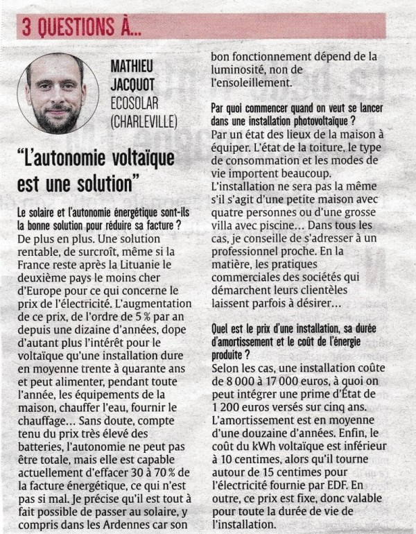 Article Ardennais