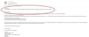 Mail exemple edf oa + cercle