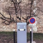 Borne de recharge pour véhicules électriques - Mai 2018 - Ardennes 08