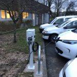 Borne de recharge pour véhicules électriques - Juin 2018 - Ardennes 08