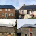 Centrale Villageoise des Crêtes - 119kWc - Hiver 2018-2019 - Ardennes (08)